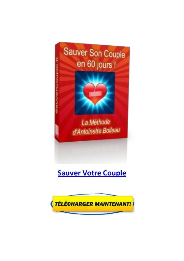Sauver Votre Couple