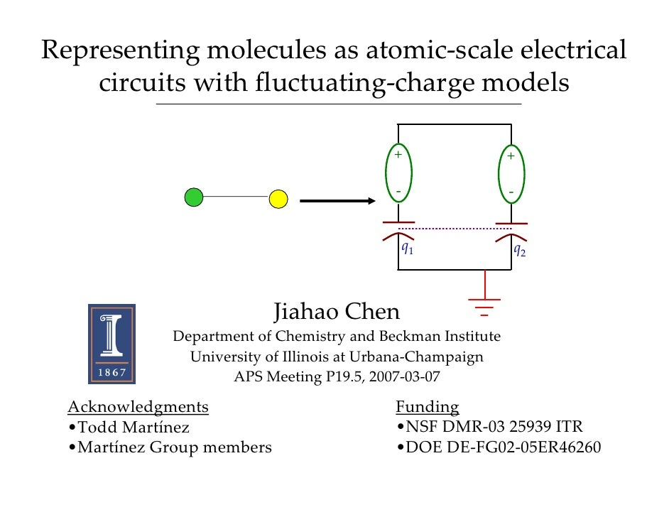 Representingmoleculesasatomic‐scaleelectrical     circuitswithfluctuating‐chargemodels                            ...