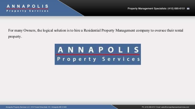 Aps why hire residential property management company