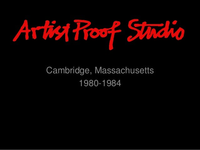 ProfARTST PROOF STUDIO is a quality Art Education Centre that specializes in printmaking through a young artists,establish...