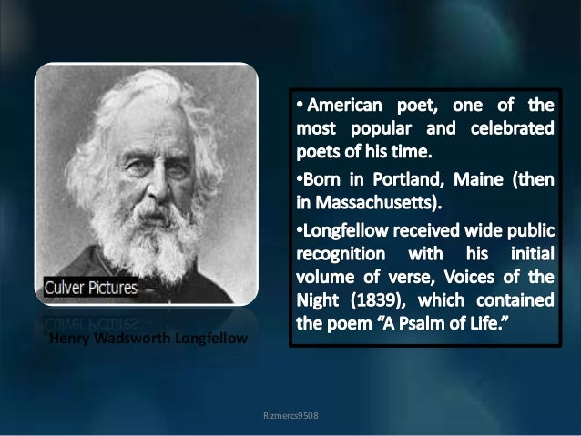 a psalm of life by longfellow 2018-06-07 the embedded audio player requires a modern internet browser you should visit browse happy and update your internet browser today tell me not, in mournful numbers, life is but an empty dream for the soul is dead that.