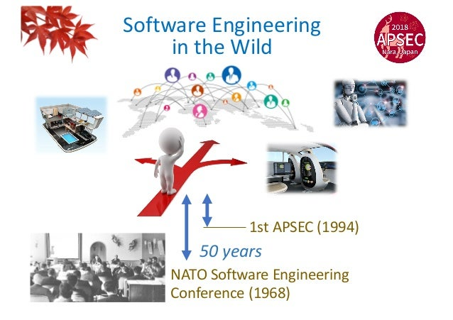 Software Engineering in the Wild NATO Software Engineering Conference (1968) 50 years 1st APSEC (1994)