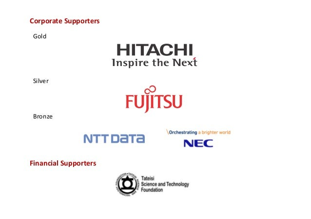 Corporate Supporters Gold Silver Bronze Financial Supporters