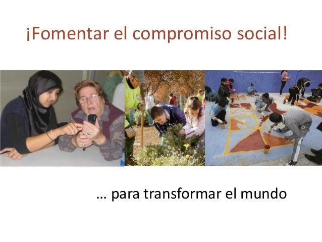Éxito educativo Compromiso social