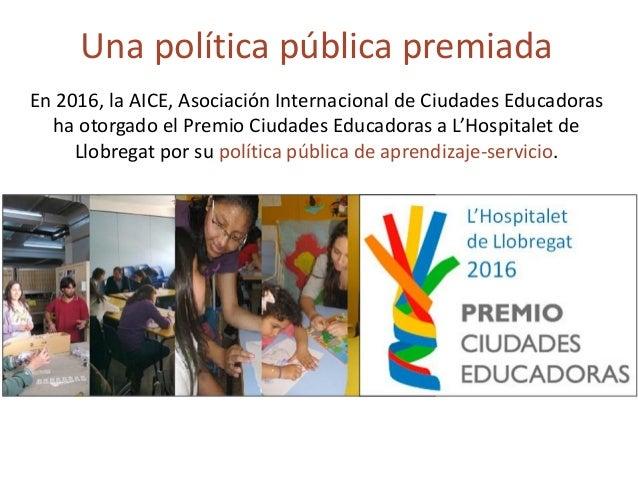 El ApS es un proyecto educativo con finalidad social. Éxito educativo Compromiso social