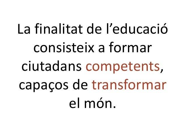Aps exit educatiu i compromis social 2019