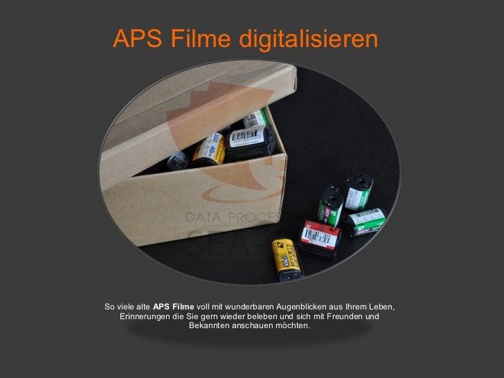 aps filme digitalisieren. Black Bedroom Furniture Sets. Home Design Ideas
