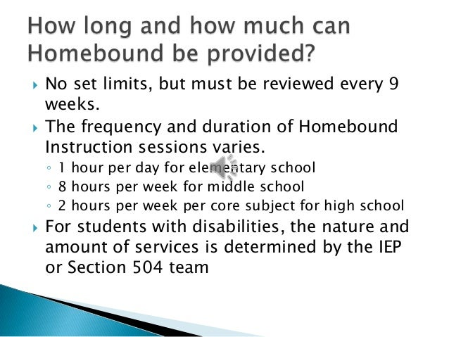 aps homebound instruction fa qs