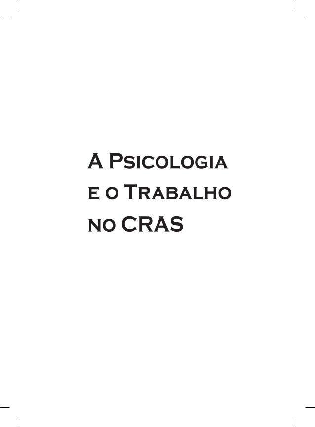 Organizadores Conselho Regional de Psicologia - Minas Gerais (CRP-MG) Centro de Referência Técnica em Psicologia e Polític...