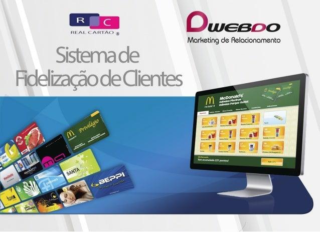 Sistema de Fidelização CRM - Webdo Marketing