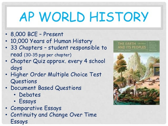 AP World History - ChAPter 4,5,6