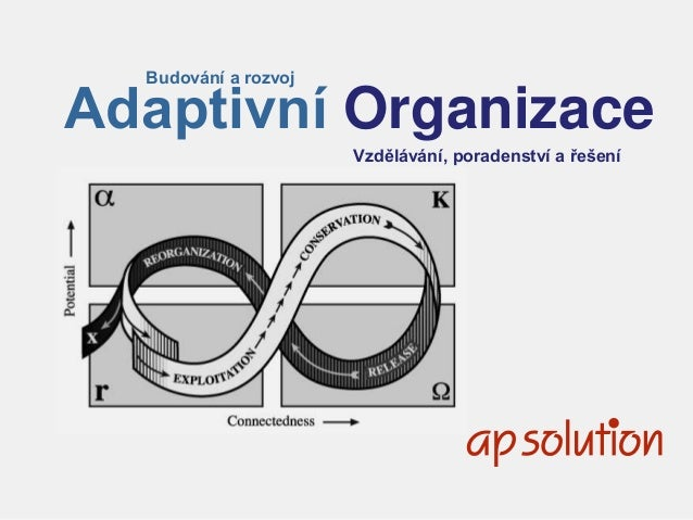 1 Budování a rozvoj Adaptivní Organizace Vzdělávání, poradenství a řešení