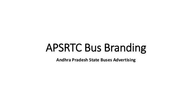 APSRTC Bus Branding Andhra Pradesh State Buses Advertising