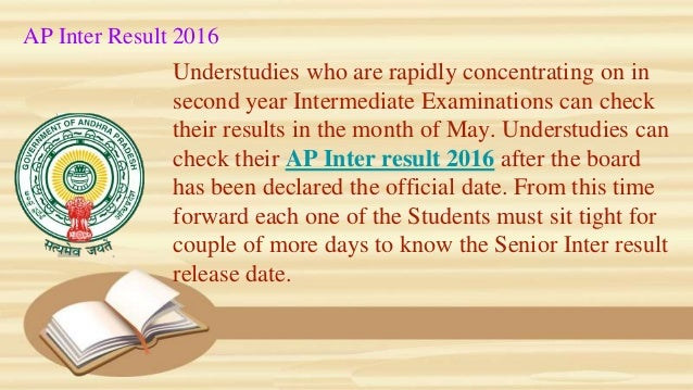 Understudies who are rapidly concentrating on in second year Intermediate Examinations can check their results in the mont...