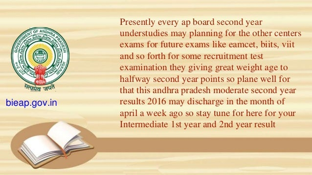 Presently every ap board second year understudies may planning for the other centers exams for future exams like eamcet, b...
