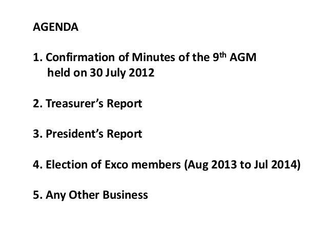 Apss 10th agm meeting president report agenda 1 pronofoot35fo Images