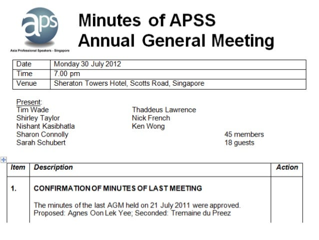 Apss 10th agm meeting president report item 2 treasurers report raymond thomas altavistaventures Gallery