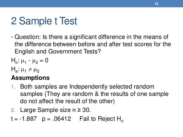 Statistics sample questions