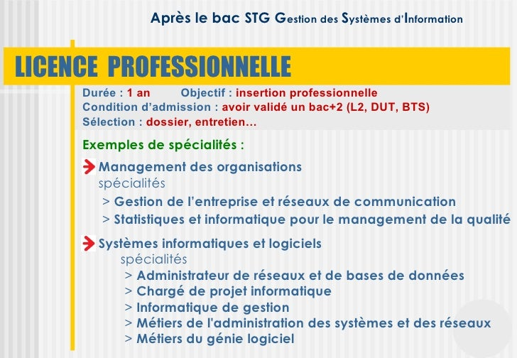 apr u00e8s le bac stg comptabilit u00e9 finance