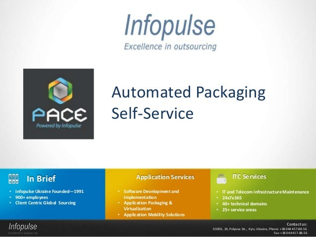 Automated Packaging                                   Self-Service       In Brief                            Application S...