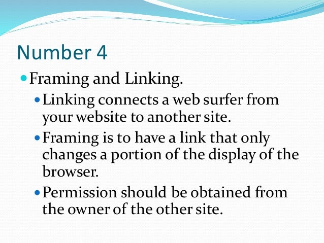 Websites: 10 Things to Consider to Avoid Litigation 3-5