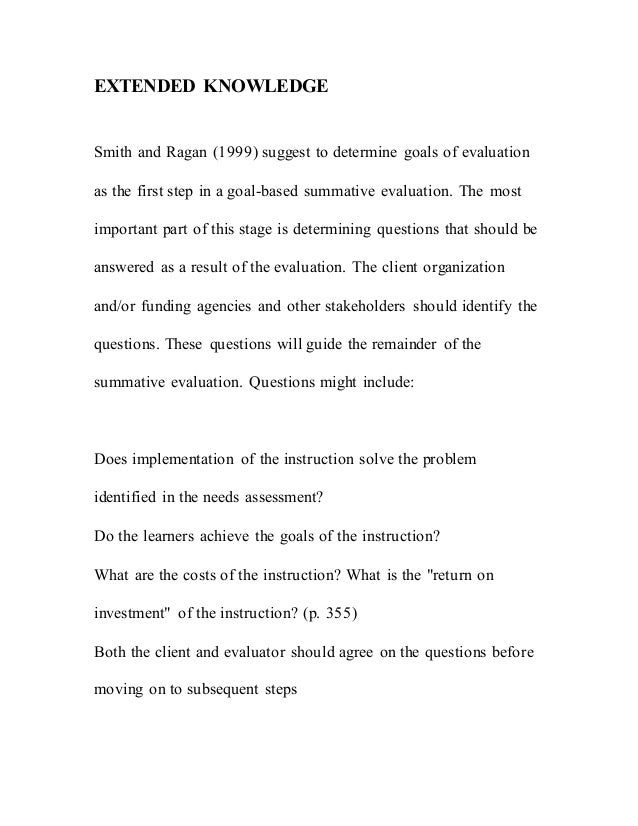 Apt Chapter 12 Summative Evaluation