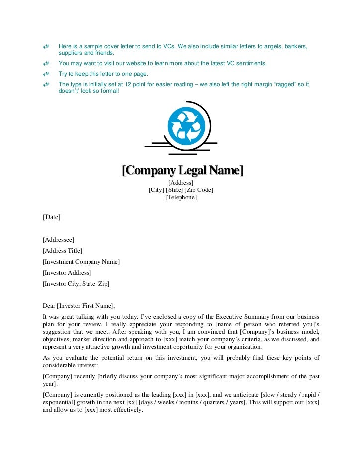 Business plan cover letter template selol ink business thecheapjerseys Gallery