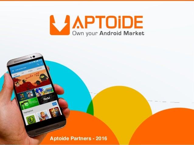 Aptoide Partners - 2016