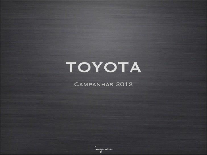 TOYOTACampanhas 2012