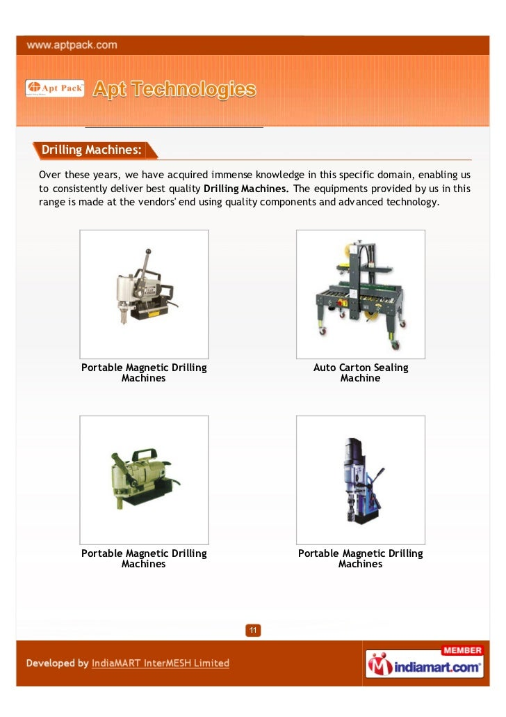 Drilling Machines:Over these years, we have acquired immense knowledge in this specific domain, enabling usto consistently...