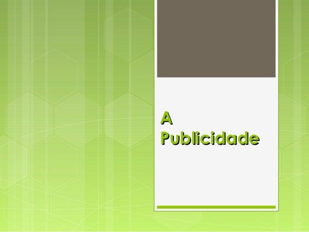 AA PublicidadePublicidade