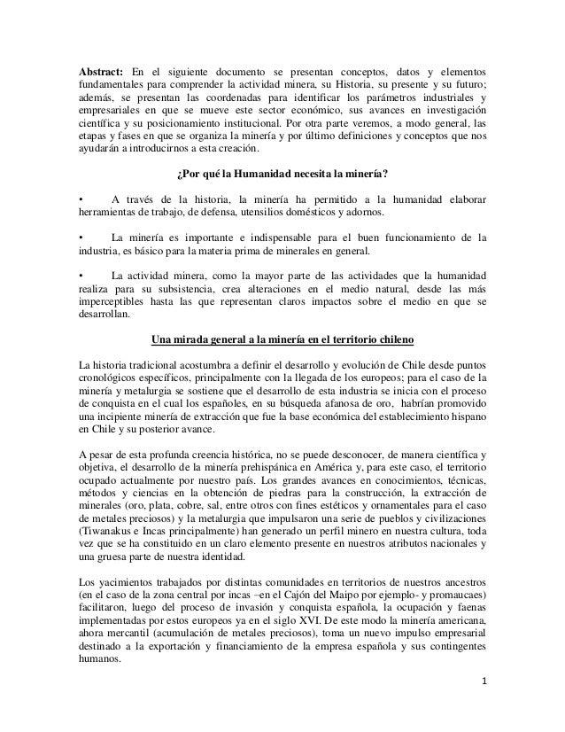 1Abstract: En el siguiente documento se presentan conceptos, datos y elementosfundamentales para comprender la actividad m...