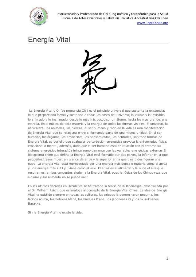 Instructorado y Profesorado de Chi Kung médico y terapéutico para la Salud Escuela de Artes Orientales y Sabiduría Iniciát...