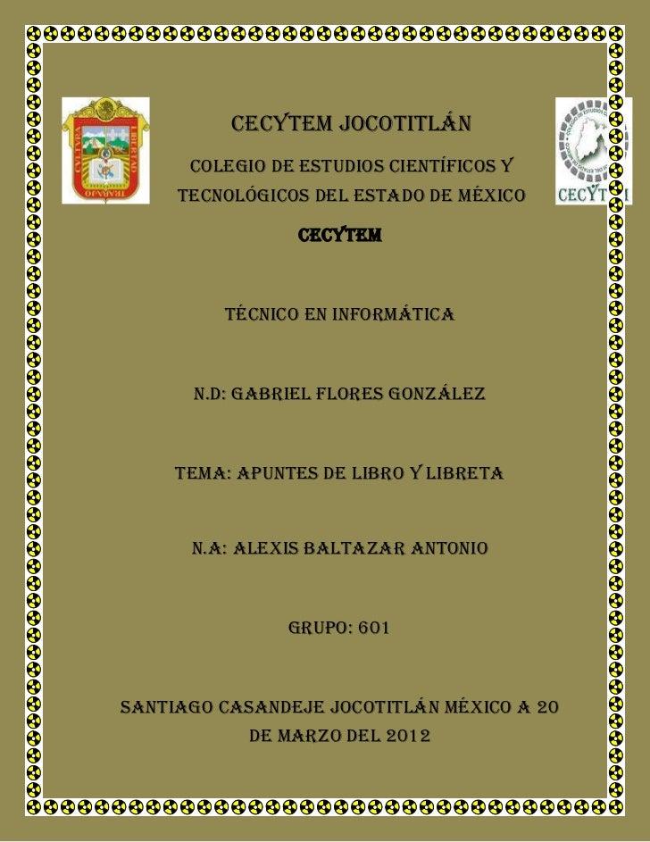 Cecytem jocotitlán      Colegio de estudios científicos y     tecnológicos del estado de México                 Cecytem   ...