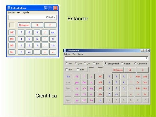 Unidades de medidas, Accesorios de Windows, Herramientas del sistema Slide 3