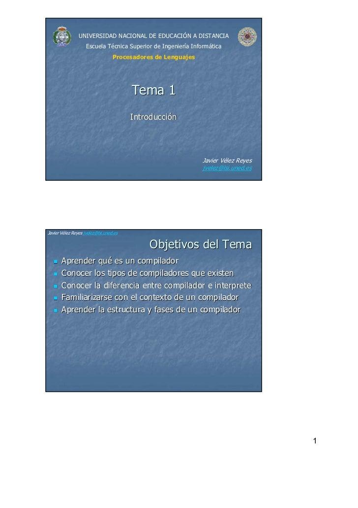 UNIVERSIDAD NACIONAL DE EDUCACIÓN A DISTANCIA                    Escuela Técnica Superior de Ingeniería Informática       ...