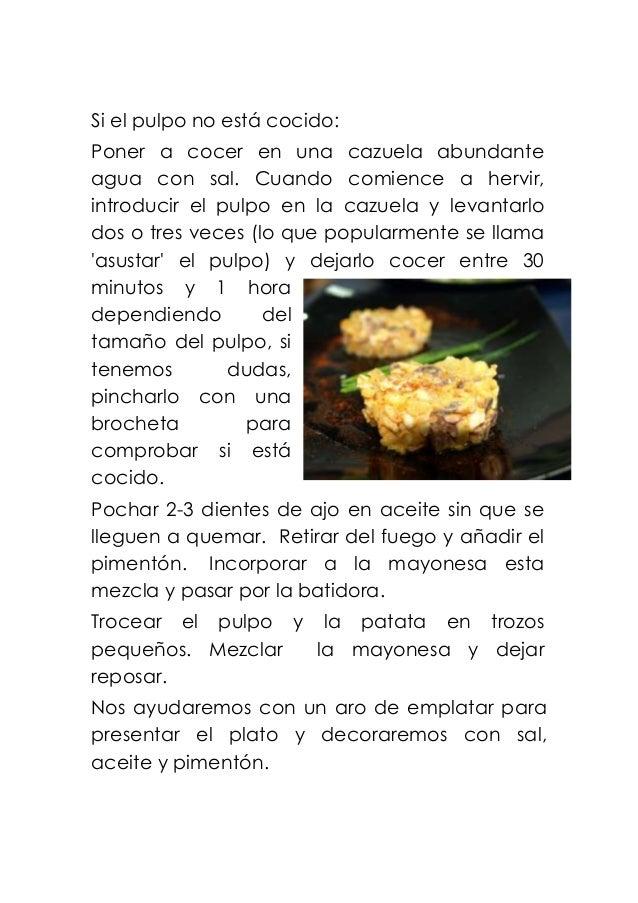 Recetas de entremeses y platos frios para invitados - Cuanto tarda en cocer una patata ...