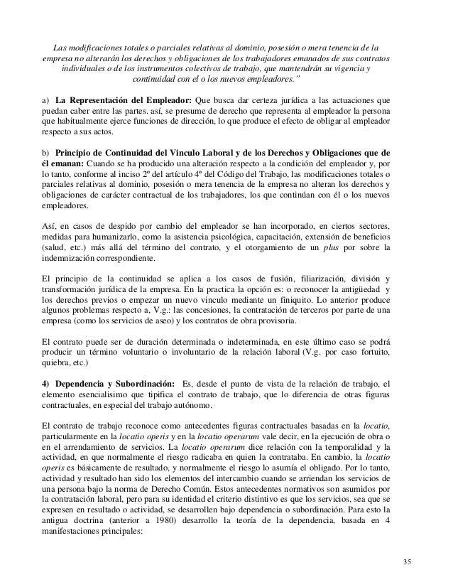 Apuntes De Derecho Del Trabajo Universidad Cat Lica De Chile