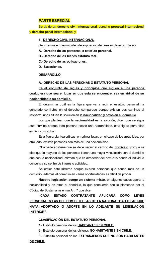 Apuntes de derecho internacional privado parte especial-2016