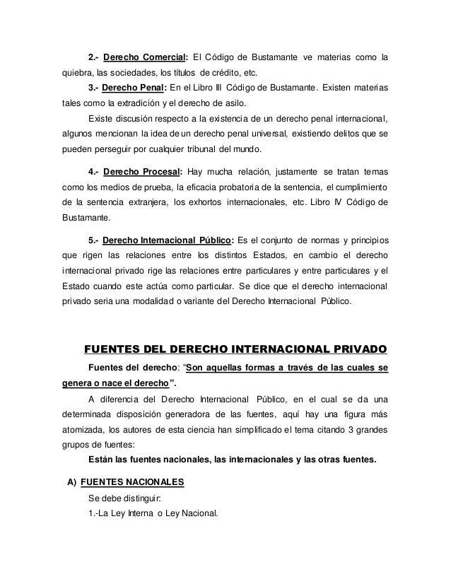 Apuntes Derecho Internacional Privado, parte general