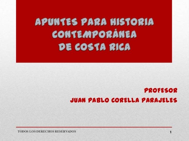 PROFESOR                          JUAN PABLO CORELLA PARAJELESTODOS LOS DERECHOS RESERVADOS                       1