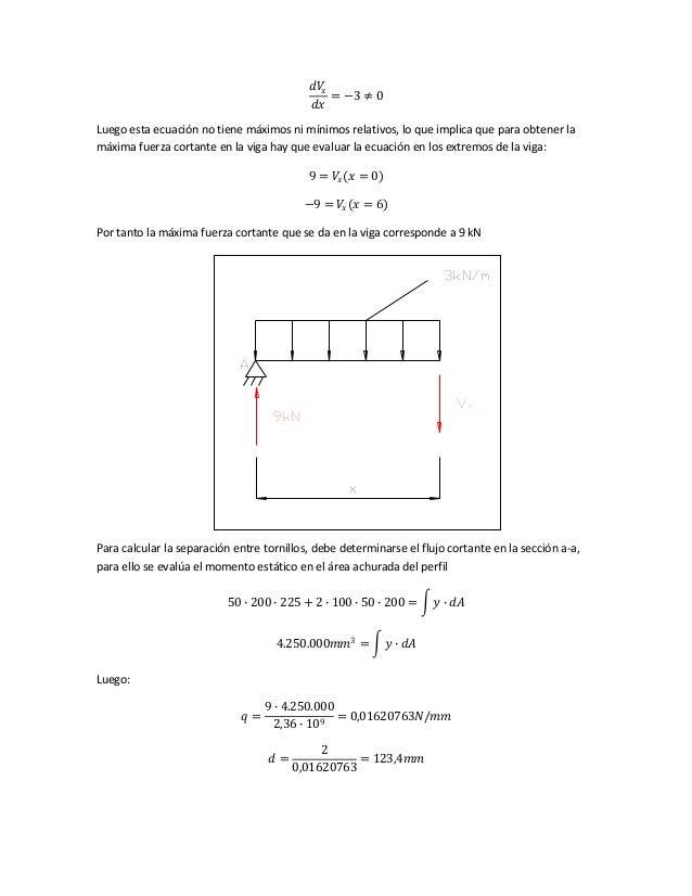 𝑑𝑉𝑥 𝑑𝑥 = −3 ≠ 0 Luego esta ecuación no tiene máximos ni mínimos relativos, lo que implica que para obtener la máxima fuerz...