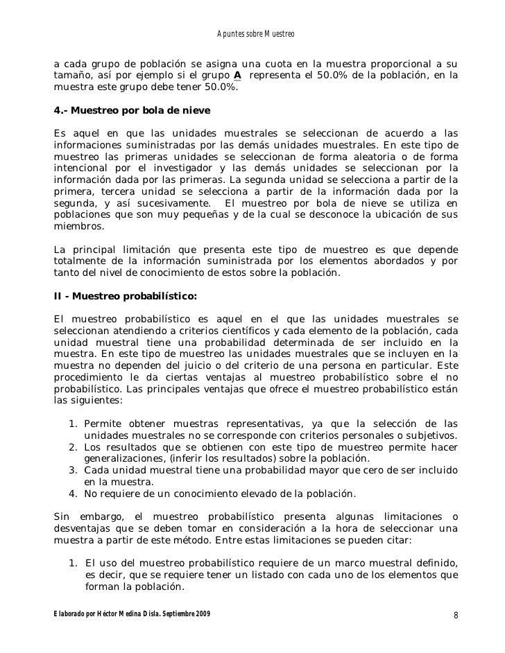 Lujoso Que El Método De Muestreo No Requiere Un Marco Adorno - Ideas ...