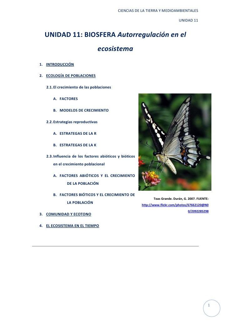 CIENCIAS DE LA TIERRA Y MEDIOAMBIENTALES                                                                                 U...