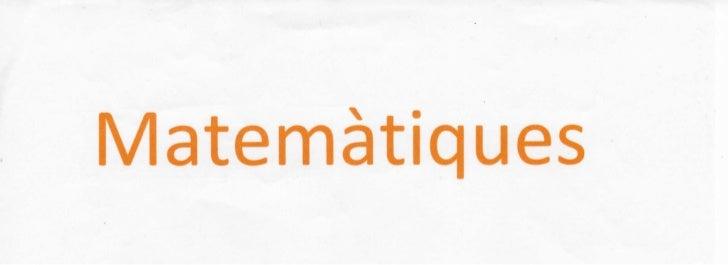 Apunts matemàtiques - Equacions i Sistemes