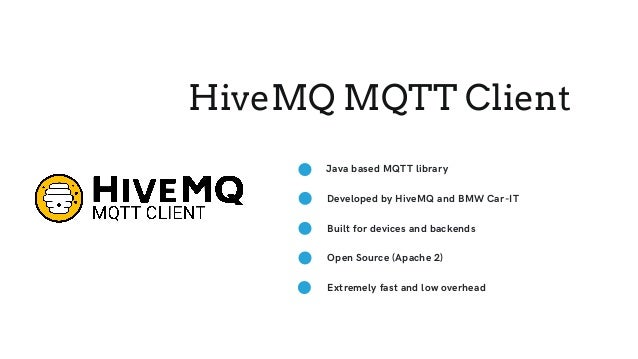 A pure Java MQTT Stack for IoT
