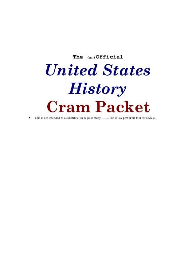 ap world history unit 5 cram packet Sirmon, william teacher home page  unit 5 - part 1 review  period 5 cram packet - period 6 ap world history - review in two pages.