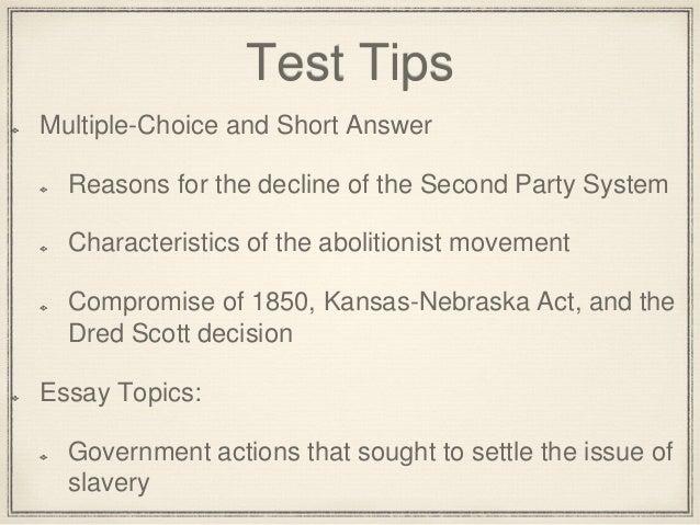 Dred scott decision essay