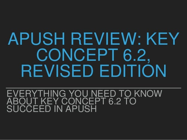 Super Quick APUSH Final Exam Review: 1491-1877 (2018 ...