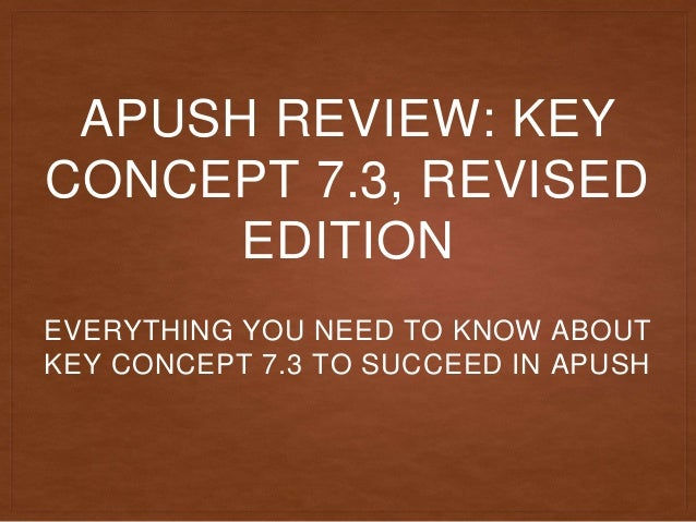 chapter 27 apush key terms
